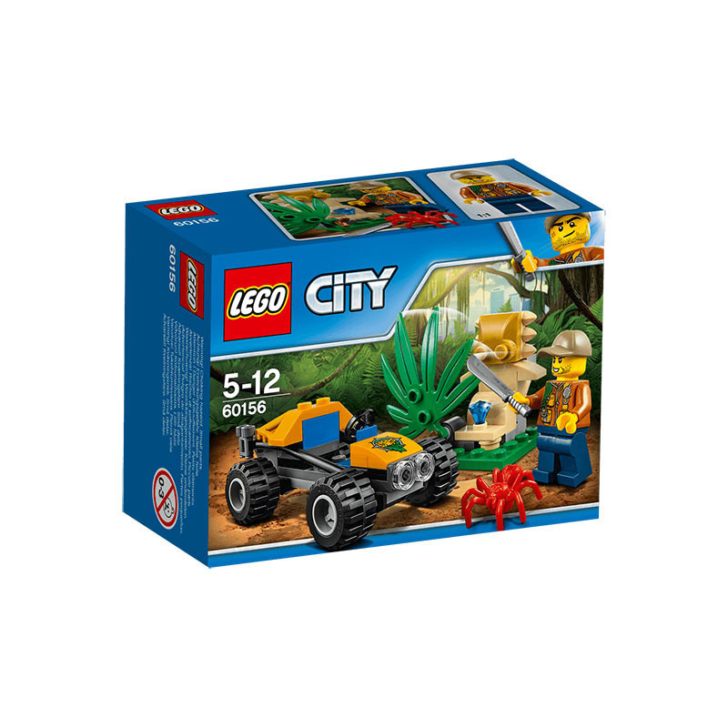 Buy Lego City 60156 Jungle Buggy Build Toy for Kids online at best ...