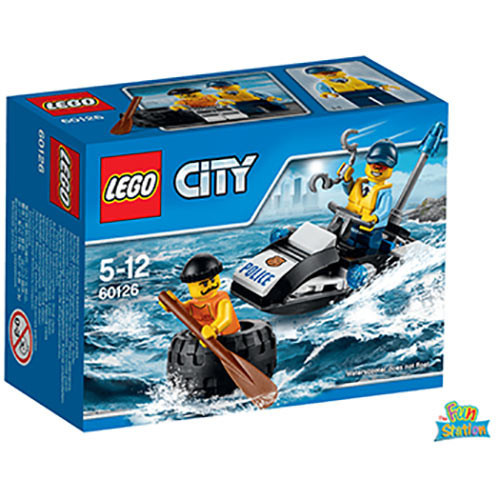 Buy Lego City 60126 Tire Escape Build Build Toy For Kids online at ...