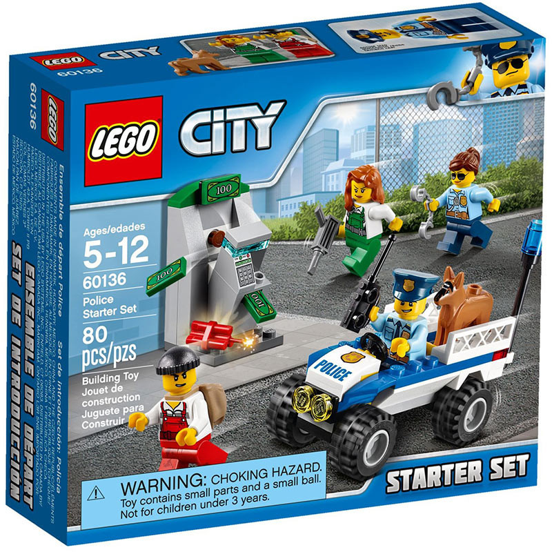 Buy Lego City 60136 Police Starter Set Build Play Toy Set For Kids ...
