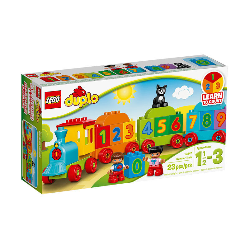 Buy Lego Duplo Learn To Count Number Train Build Toy For Kids ...