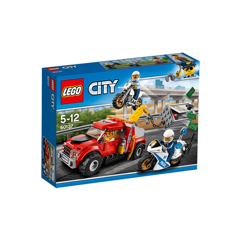 Buy Lego City (60137) Tow Truck Trouble Build Toy for Kids online at ...