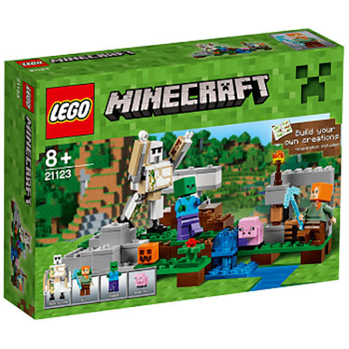 Buy Lego MineCraft (21123) Build your Own Creation The Iron Golem ...
