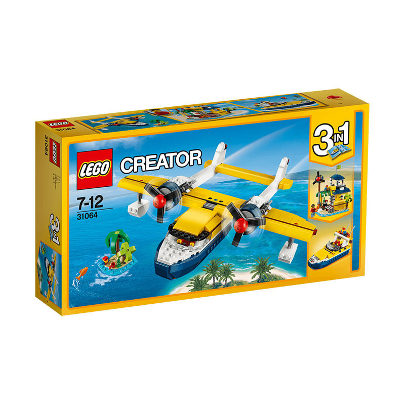 Buy Lego Creator (31064) Island Adventures 3-in-1 Build Toy For ...