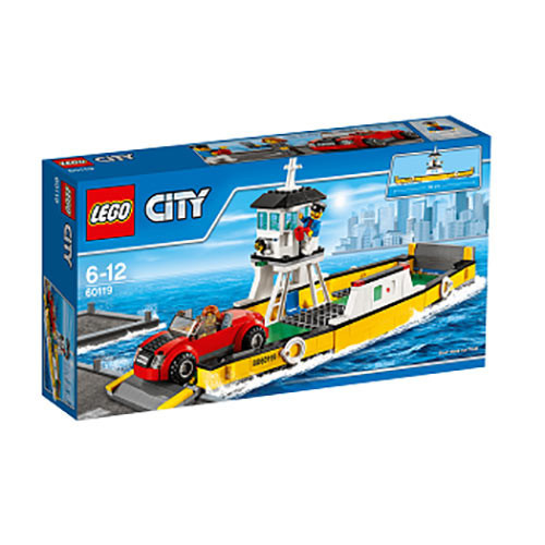 Buy Lego City (60119) Ferry Build Toy For Kids online at best price ...