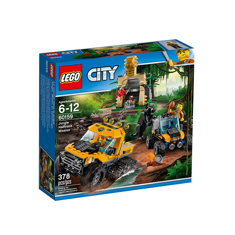 Buy Lego City (60159) Jungle Halftrack Mission Build Toy For Kids ...