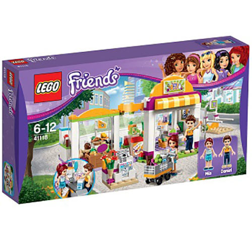 Buy Lego Friends (41118) Heartlake Supermarket Build Toy Set for ...