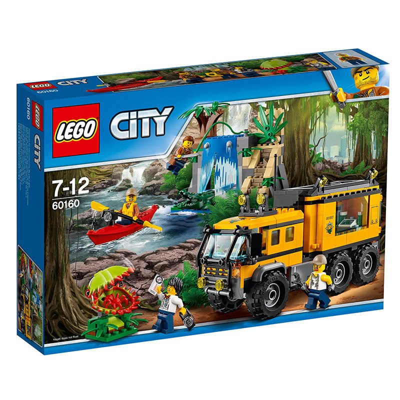 Buy Lego City (60160) Jungle Mobile Lab Build Toy For Kids online at ...