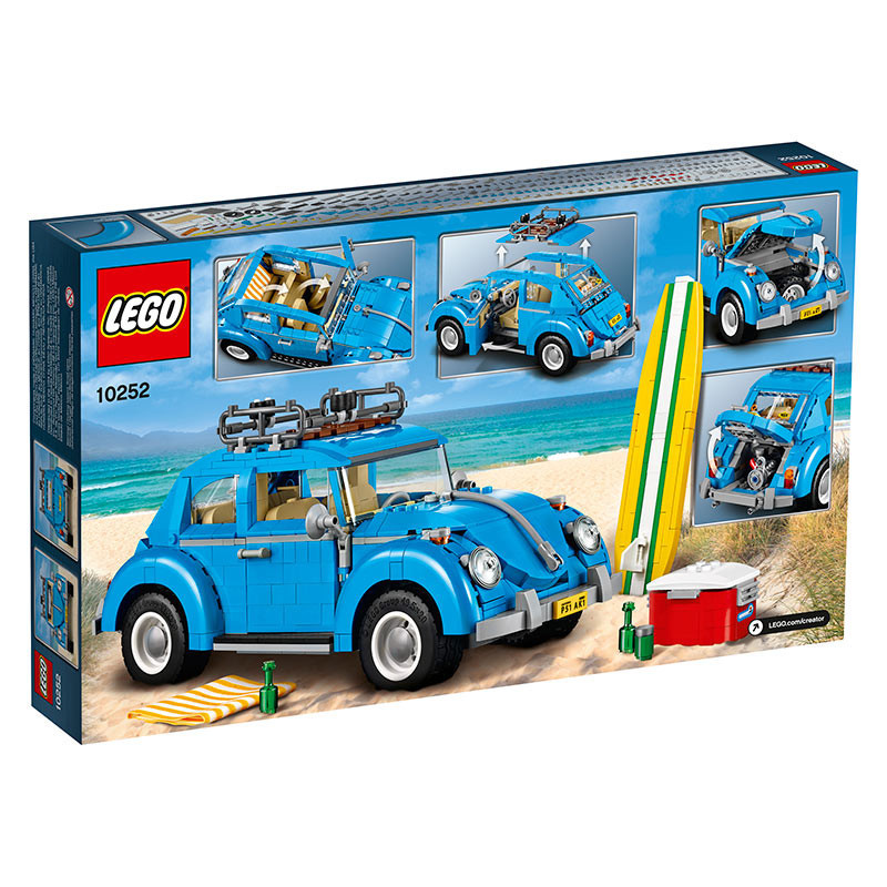 Buy Lego 10252 Volkswagen Beetle Build Toy Car For Kids Online At