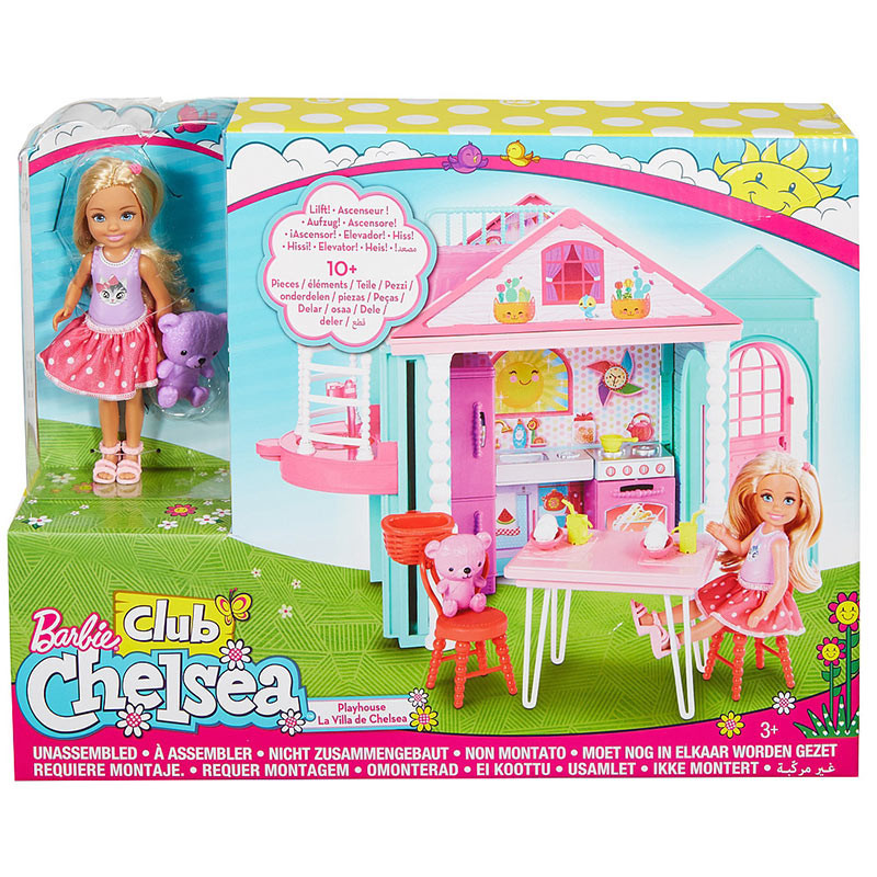 Buy Barbie Club Chelsea Doll And Doll House Dwj50 Online At Best