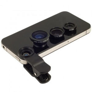 3 In 1 Universal Clip Phone Lens