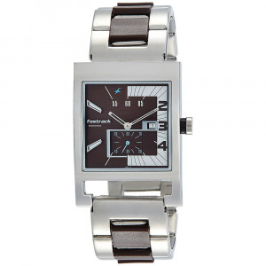 Fastrack Analog Brown Dial Men's Watch-1478SM02