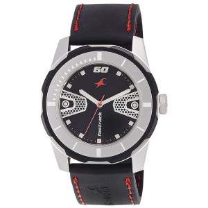 Fastrack Economy 2013 Analog Black Dial Men's Watch - 3099SP04