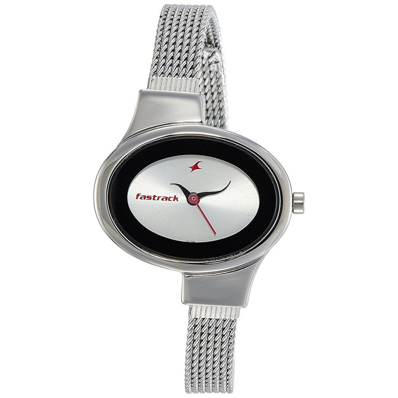 6d163e6d9 Buy Fastrack Analog Silver Dial Women s Watch - 6015SM01 online at best  price in Nepal - Reddoko . com