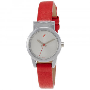 Fastrack Fits and Forms Analog Silver Dial Women's Watch - 6088SL02