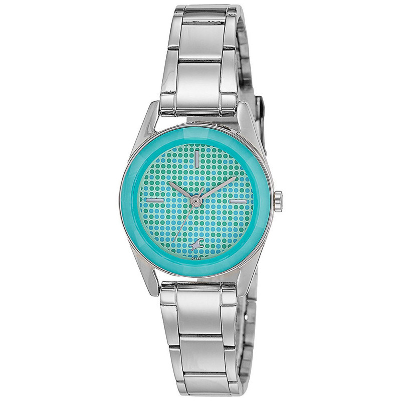 Buy Fastrack Analog Green Dial Women S Watch 6144sm02 Online At