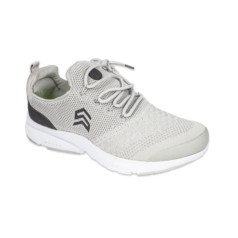 d8d97733e2 Buy Light Weight Knitted Grey Sport Shoe with Show Shoe lace - (6106) online  at best price in Nepal - Reddoko . com