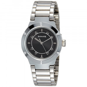Sonata Professional Watch for Women - 8138SM01