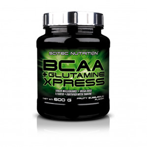 Scitec Nutrition BCAA + Glutamine Xpress The most important free form amino acids in one formula