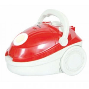 Baltra BVC-204 Clear 1400Watt Bag Vacuum Cleaner- Red/White