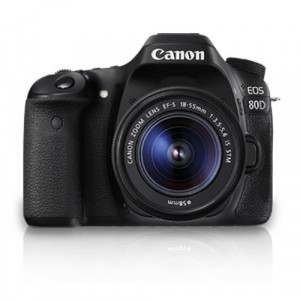 Canon EOS 80D DSLR Camera (Body) and Kit lens (EF-S18-55mm IS STM) with Dual Pixel CMOS AF & 7.0fps Continuous Shooting