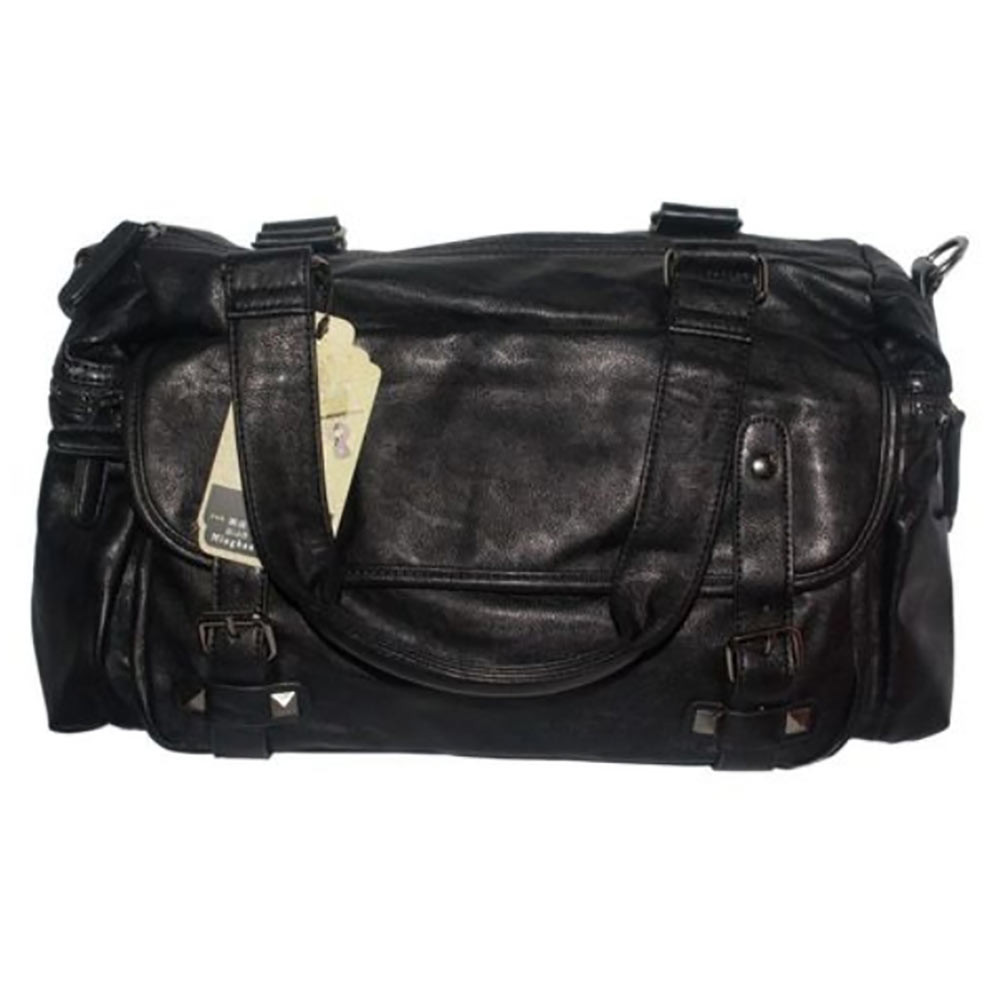 Buy AB Fancy Black Faux Leather Side Bag for Men online at best price in  Nepal - Reddoko . com e658e344ad3fe