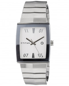 Titan Analogue Multi-Colour Dial Men'S Wristwatch 1404Sm01