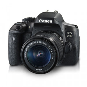 Canon EOS 750D DSLR Camera Body with Kit Lens Combo (EF-S18-55mm IS STM)