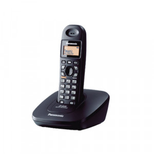 Panasonic Cordless Landline Telephone Set with Caller ID, Simple and Easy Operation - KX-TG3611