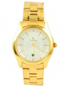 Titan Tycoon Analog Silver Dial Men'S Watch - Nc1559Ym02