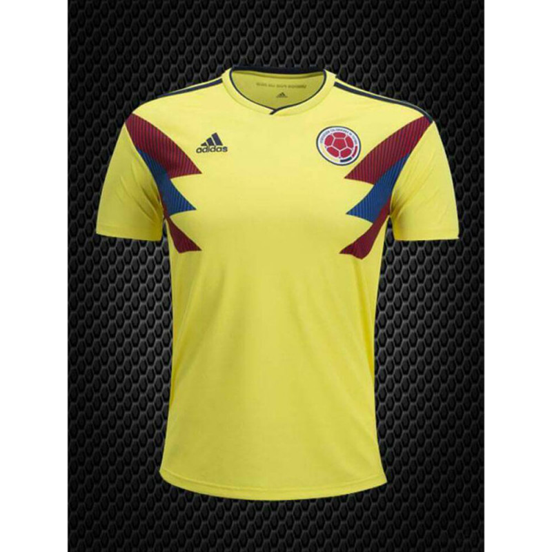 size 40 993eb b9371 Addidas World Cup Russia 2018 Colombia Jersey