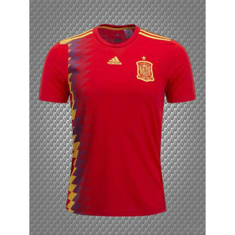 great fit 01514 30e3c Addidas World Cup Russia 2018 Spain Jersey