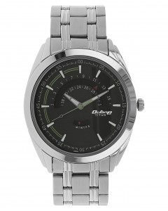Black Dial Stainless Steel Strap Watch 1582Sm02
