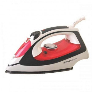 Homeglory HGI-106 2000W Steam & Spray Iron - (White/Red)