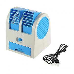 Mini Air Cooler Fan With Water And Ice Compartment