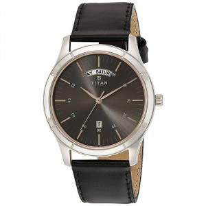 Titan Neo Analog Grey Dial Men's Watch-1767SL02