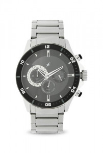Fastrack  Big Time Analog Watch for Men-3072SM02