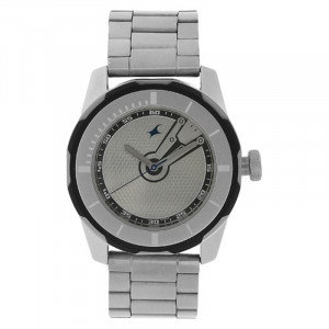 Fastrack  Black Magic Analog White Dial Watch For Men-3099SM01