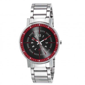 Fastrack Varsity Analog Silver Dial Women's Watch - 6172SM03