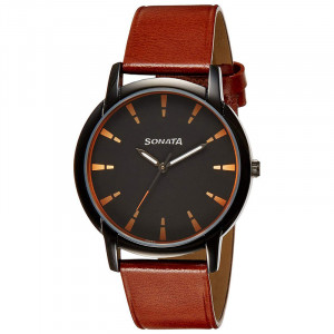 Fastrack Analog Grey Dial Men's Watch-3147KL01