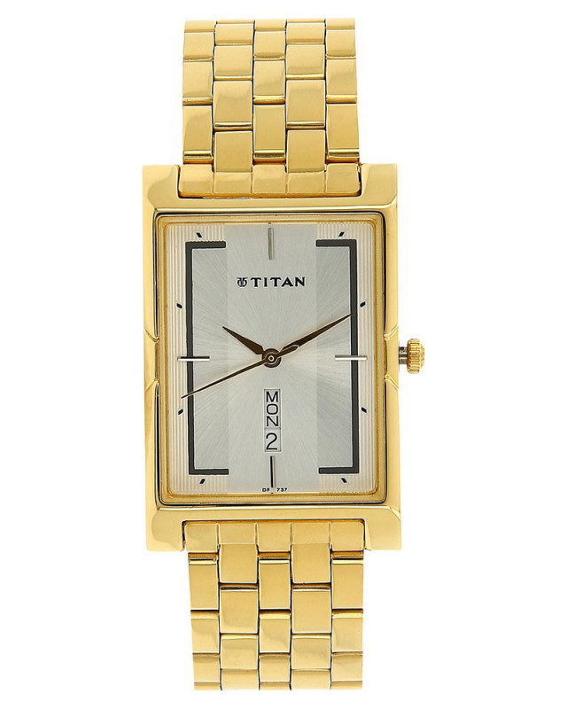 aa3e0b1a0 Buy Titan Ottoman Analog Silver Dial Men S Watch - 1641Ym04 online at best  price in Nepal - Reddoko . com