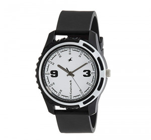 Fastrack Casual Analog White Dial Men's Watch -3114PP01