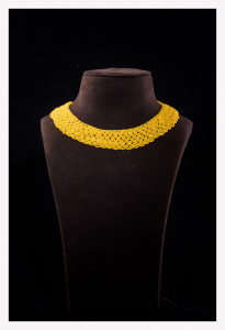 Yellow Namlo Choker