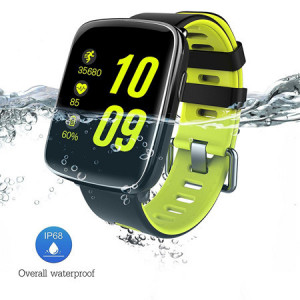 GV68 Smart Watch with CPU Compatible with IOS and Android No SIM Card and Camera Support Bluetooth Heart Rate Sensor And Build in Battery