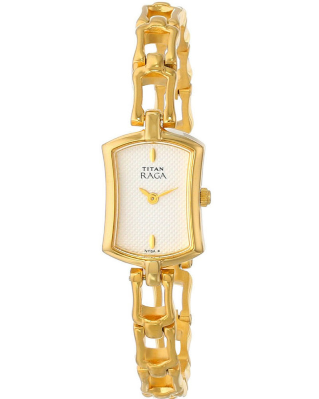 b9a4166e861 Buy Titan Raga Collection Jewelry Inspired Gold Tone Women S Watch 2104Ym01  online at best price in Nepal - Reddoko . com