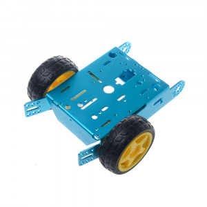 2 Wheel Robot Chassis with Aluminium Frame
