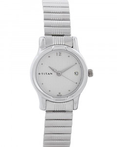 Titan Analog With Date Watch For Women 2490Sm02