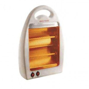 BTH-125 Flame 800W Quartz Heater - (White)