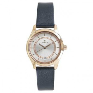 Titan Neo Blue Strap Analog Watch For Women- 2596WL01