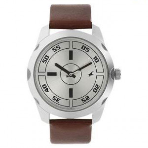 3123SL02 Silver Dial Analog Watch For Men