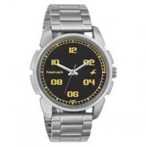 3124SM02 Black Dial Analog Watch For Men